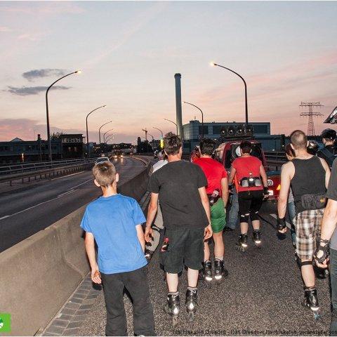 19-07-2013 - DREWAG-Strecke