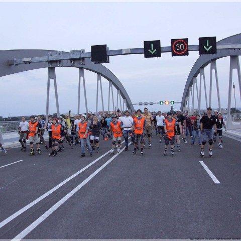 24-08-2013 - DKT-Sonderstrecke - Eröffnung Waldschlösschenbrücke